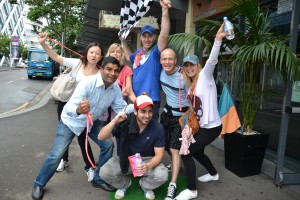 sydney amazing race fun exercise team building activities corporate events