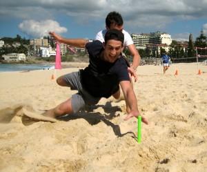 beach sand dive