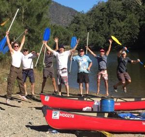 Team Building Canoe and Sea Kayak Adventures near Sydney