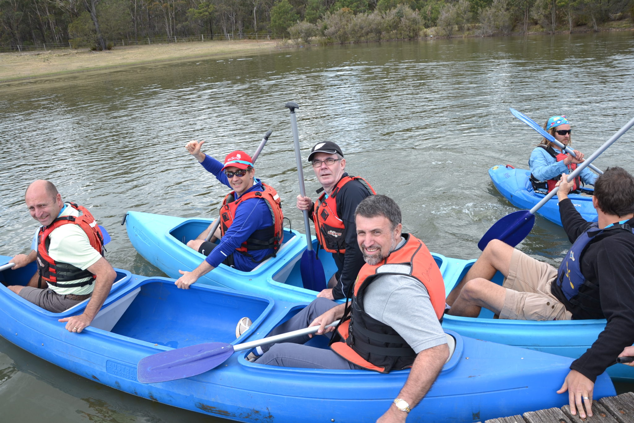 canoeing adventure packages tours australia team building