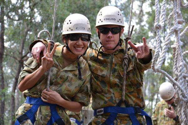 ADF defence force team building adventure training