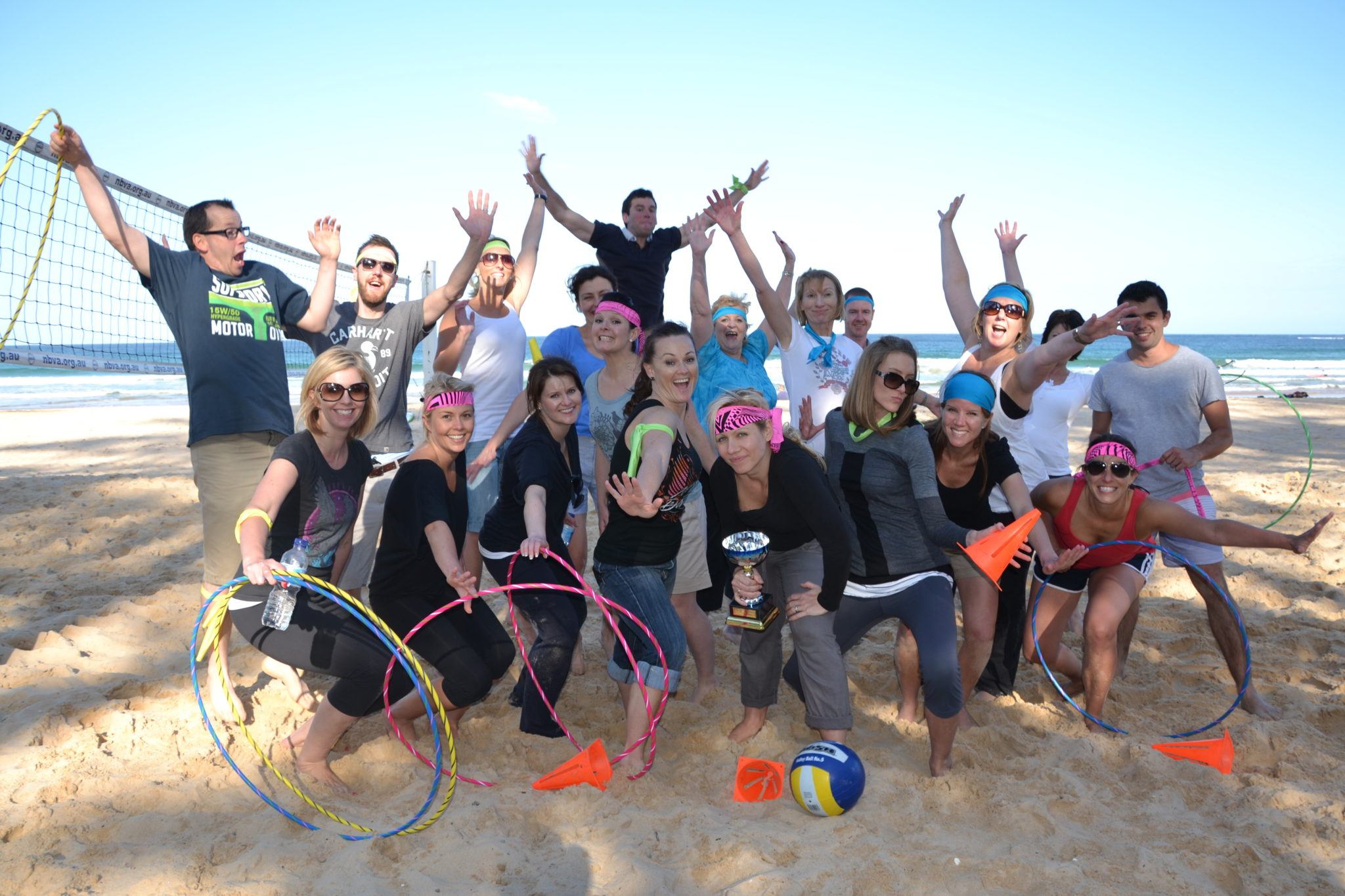 Beach Amazing Race- Victors