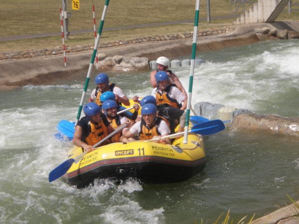 white water rafting team building adventures packages sydney