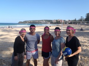 Manly beach team building fun amazing race beach volleyball activities