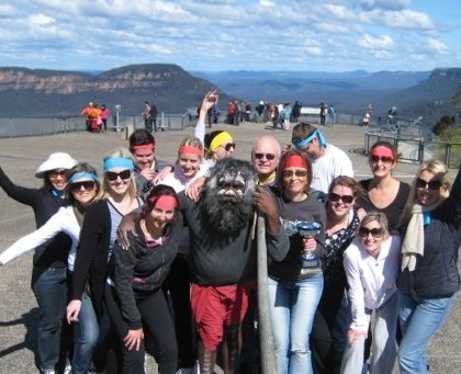 Blue Mountains Team Building Event Treasure Hunt