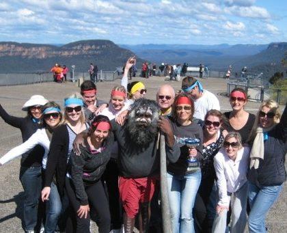 Blue Mountains Team Building Event Treasure Hunt