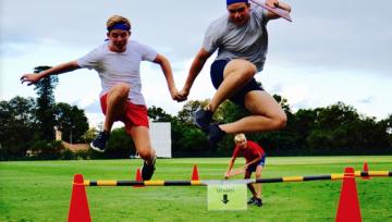 Sydney Survivor Event Developing Students Leadership Skills