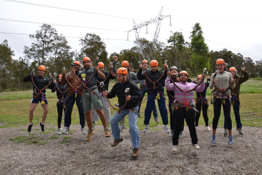Electric Team Building Activities in Sydney by Bushsports
