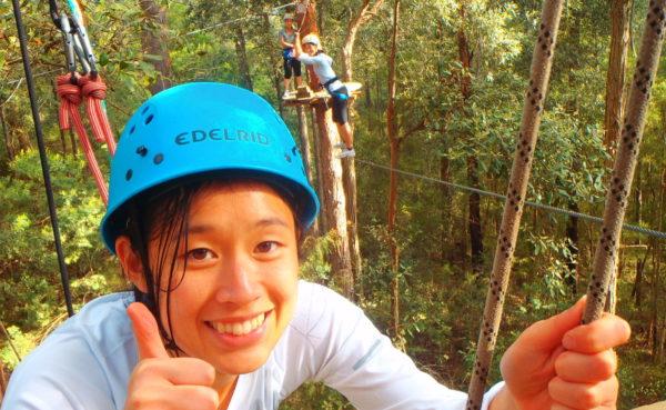 Bushsports Australia, High Ropes Course Team Building Activities