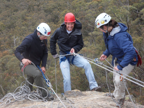 Bushsports Australia, Abseiling Team Building Activities