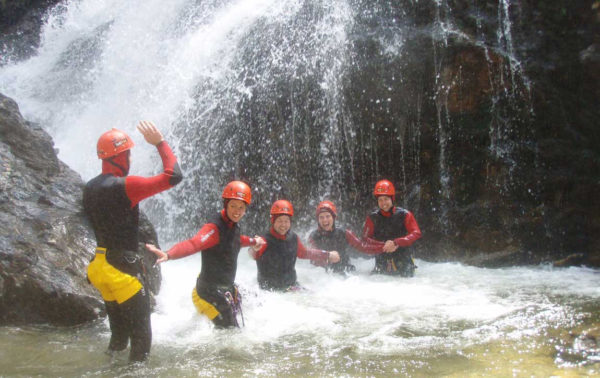 Bushsports Australia, Canyoning Team Building Activities