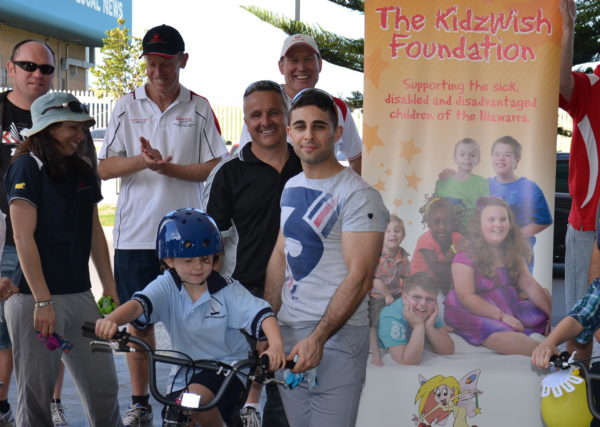 Build a Bike for Children's Charities Team Building
