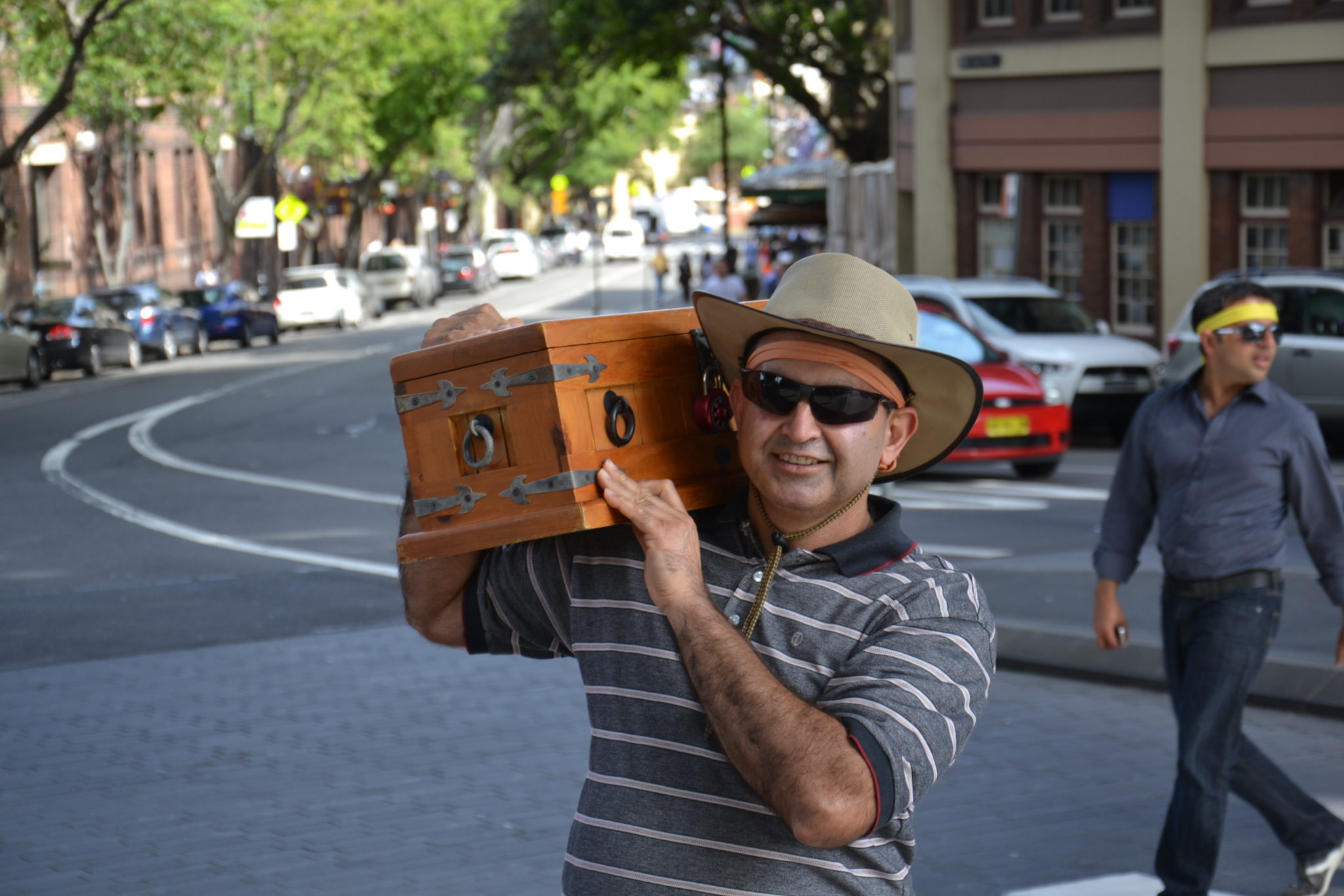 Treasure Hunt celebration team building activities Sydney The Rocks treasure Chest bounty found