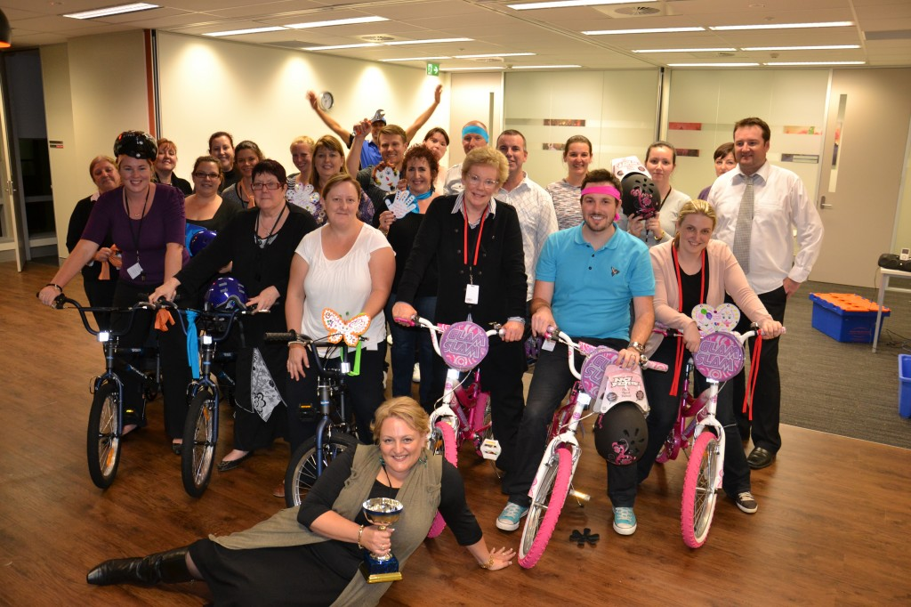 Team Building Bikes for Charity groups by corporate leaders