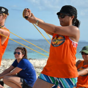 Sling shot survivor team building activities