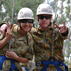 ADF defence force team building adventure training