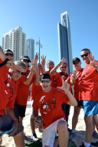 SIKA amazing Race for blokes incentive reward on Surfers Paradise Beach