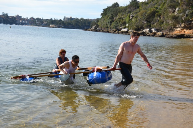 raft building corporate team building sydney activities