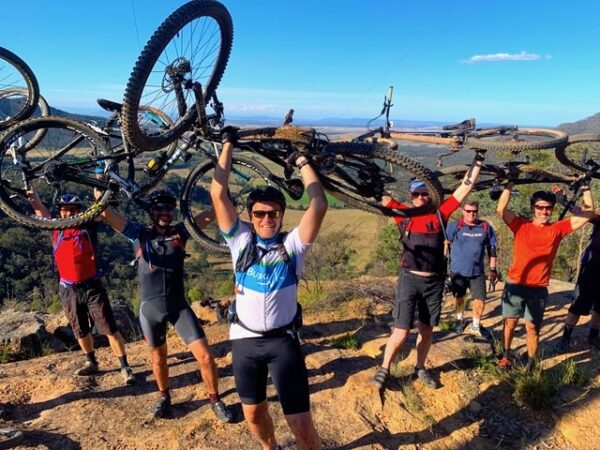 Guided Mountain Bike Tours for Groups in Hunter Valley NSW