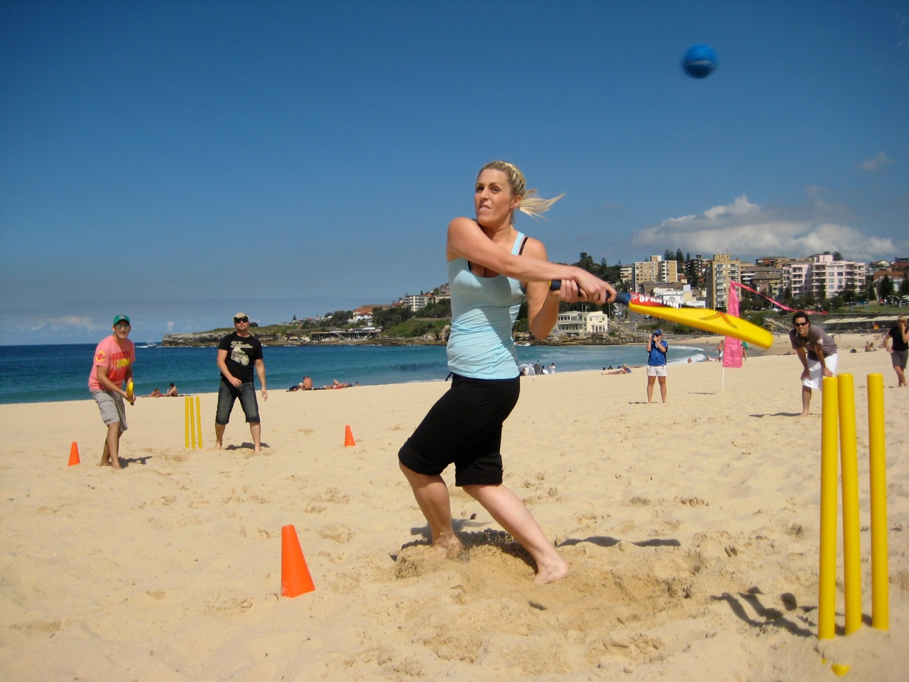 Beach Amazing Race- Team Building: