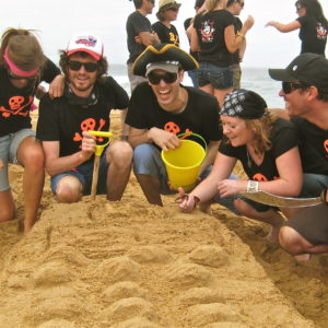 sydney beaches treasure hunts corporate team building