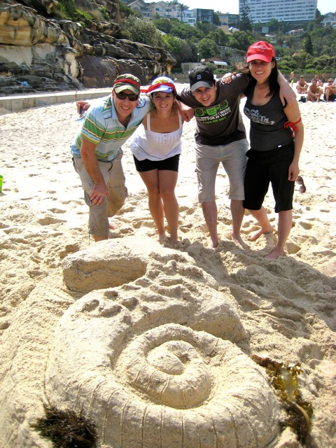 Beach activities and Treasure hunts on Coogee Beach, Manly Beach and Bondi Beach