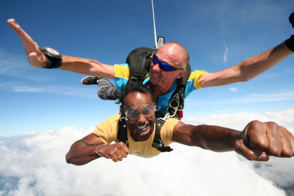 skydive adventure packages bushsports