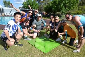 Warrior Challenge Team Building Activity